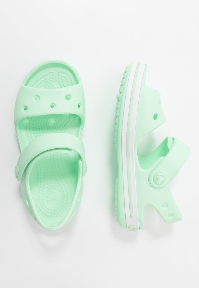 CROCBAND KIDS - Chanclas de baño - neo mint