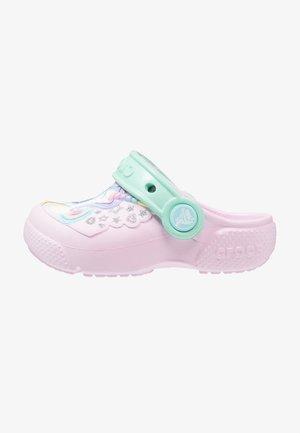 FUN LAB CLOG - Badslippers - pink/new mint