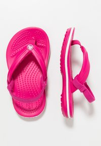 Crocs - CROCBAND STRAP FLIP RELAXED FIT - Pool shoes - candy pink - 0