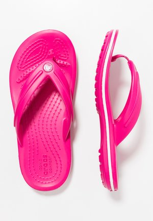 CROCBAND RELAXED FIT - Teenslippers - candy pink