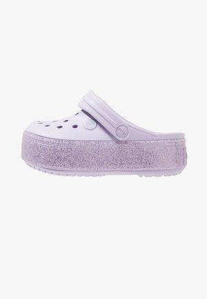 CROCBAND PLATFORM CLOG - Sandali da bagno - lavender sparkle