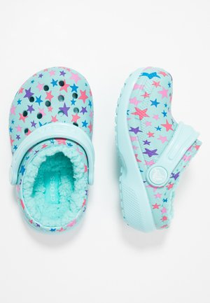 CLASSIC PRINTED LINED CLOG - Mules - ice blue