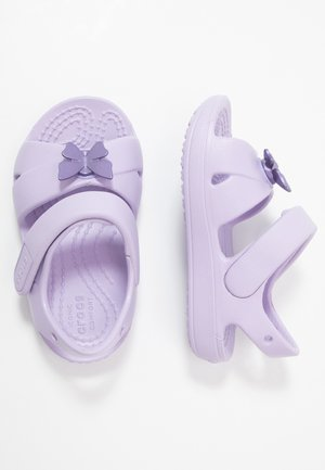 CLASSIC CROSS STRAP - Pool slides - lavender