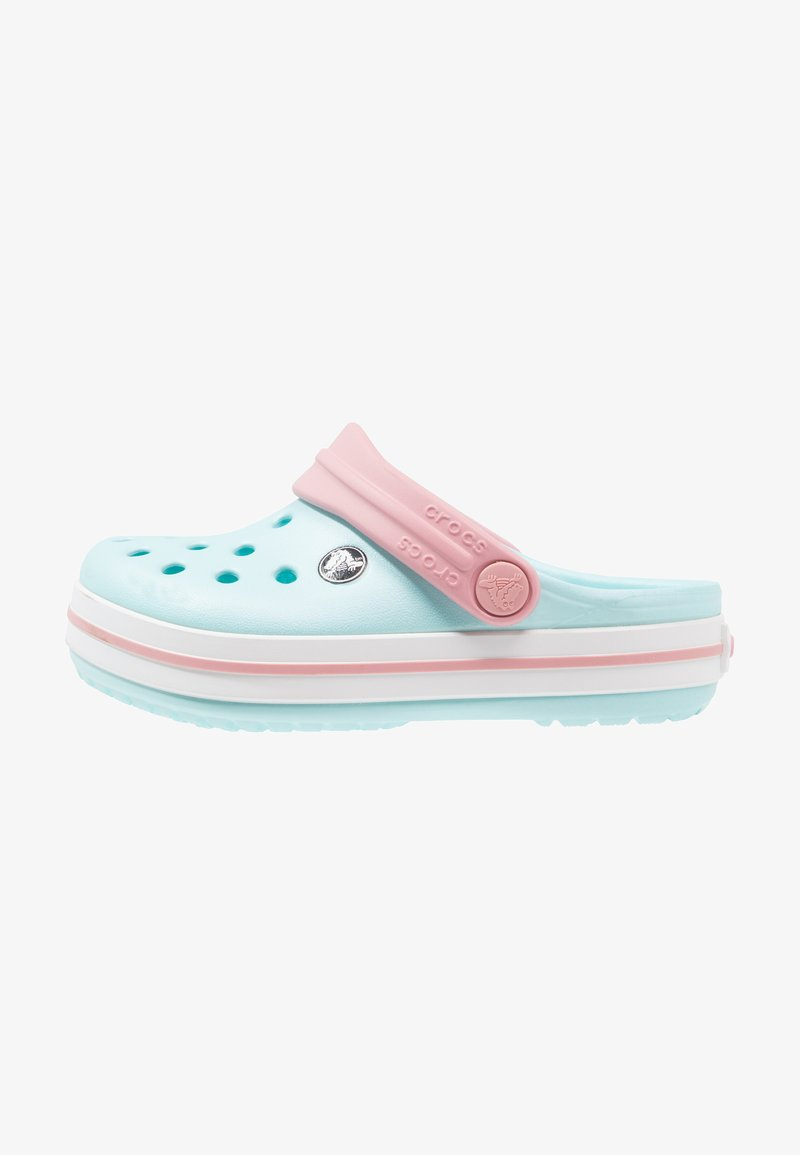 Crocs - CROCBAND RELAXED FIT - Pool slides - ice blue/white