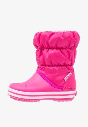 Vysoká obuv - candy pink