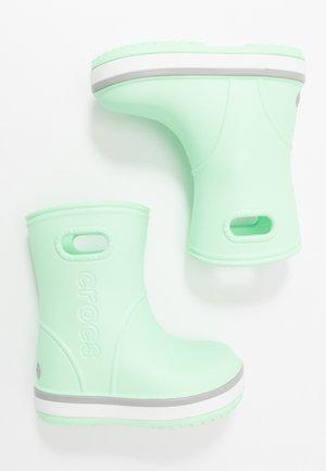 CROCBAND RAIN BOOT - Bottes en caoutchouc - neo mint/light grey