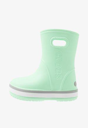 CROCBAND RAIN BOOT - Stivali di gomma - neo mint/light grey