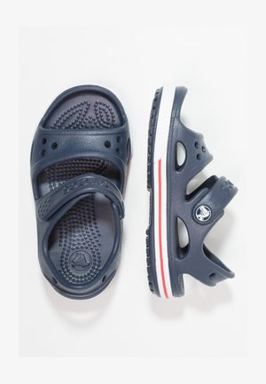 Pool slides - navy/white
