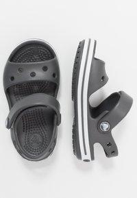 Crocs - CROCBAND KIDS - Chanclas de baño - graphite - 0