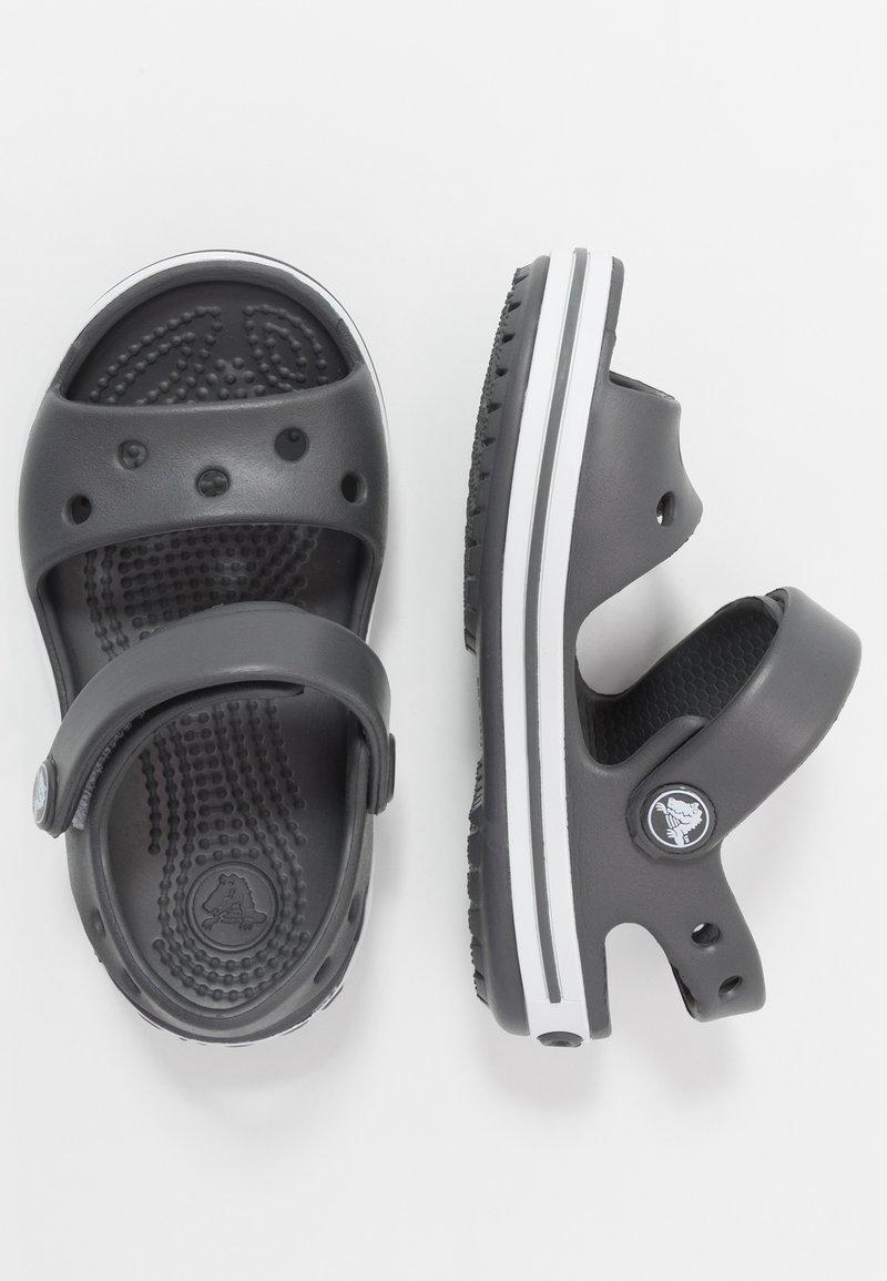 Crocs - CROCBAND KIDS - Chanclas de baño - graphite