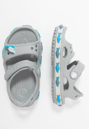 SHARK BAND - Pool slides - light grey