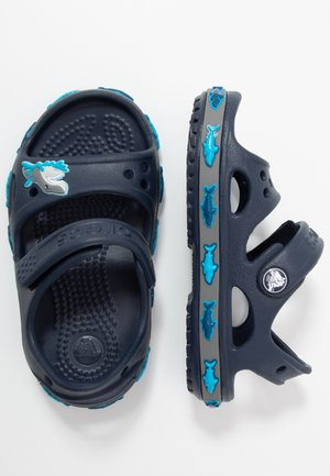 SHARK BAND - Pool slides - navy