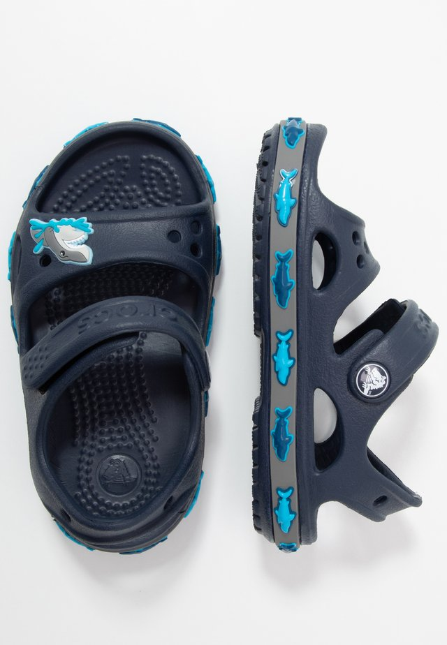SHARK BAND - Chanclas de baño - navy