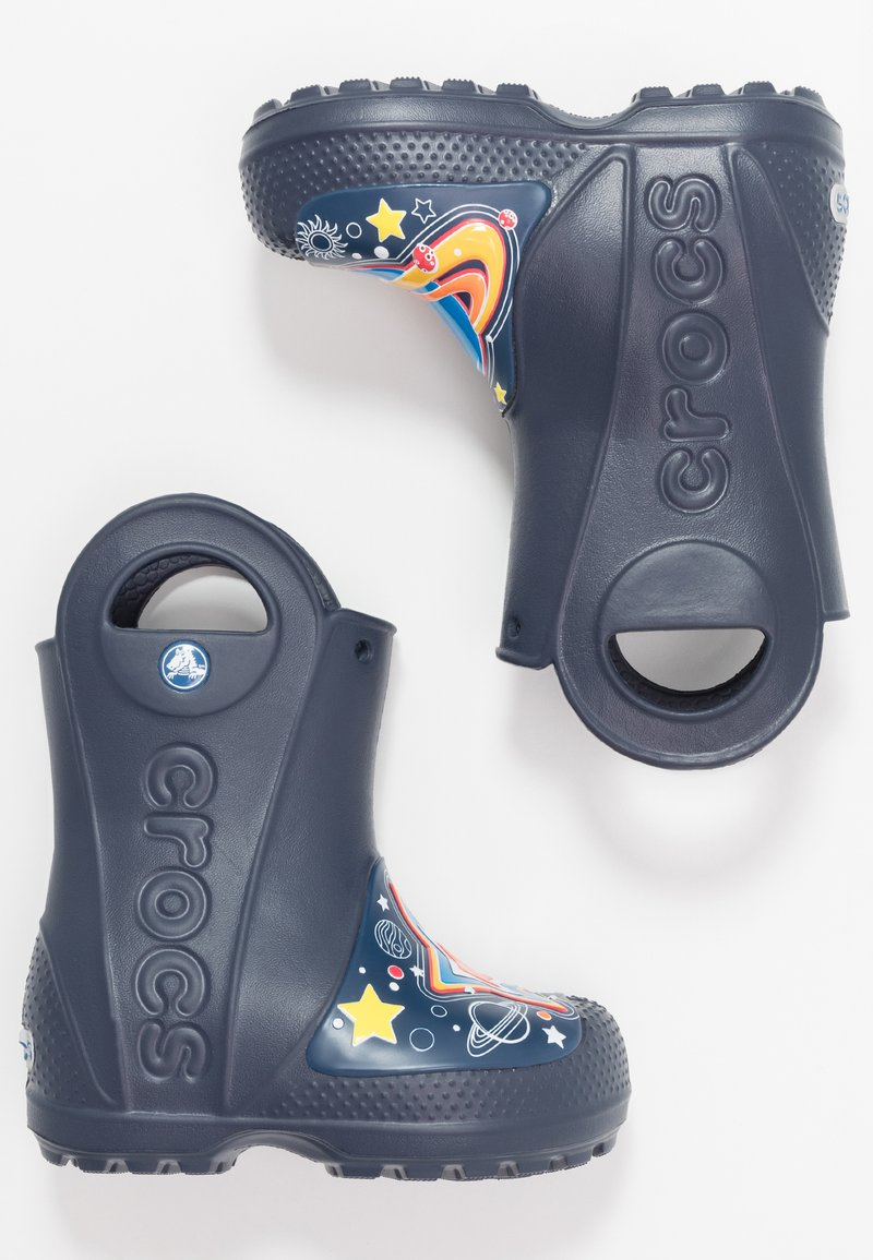 Crocs - GALACTIC RAIN BOOT - Wellies - navy