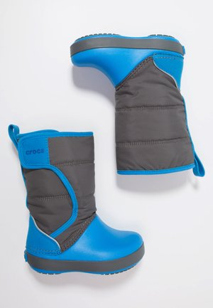 LODGEPOINT BOOT RELAXED FIT - Vysoká obuv - slate grey/ocean