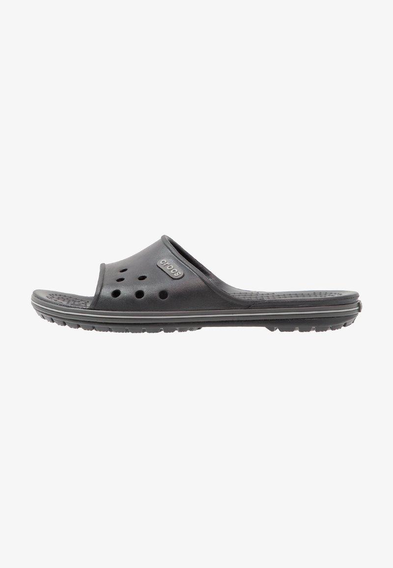 Crocs - CROCBAND II SLIDE - Chanclas de baño - black/graphite