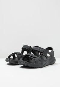 Crocs - SWIFTWATER - Badesandale - black - 2
