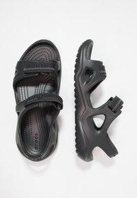 Crocs - SWIFTWATER - Badesandale - black - 1