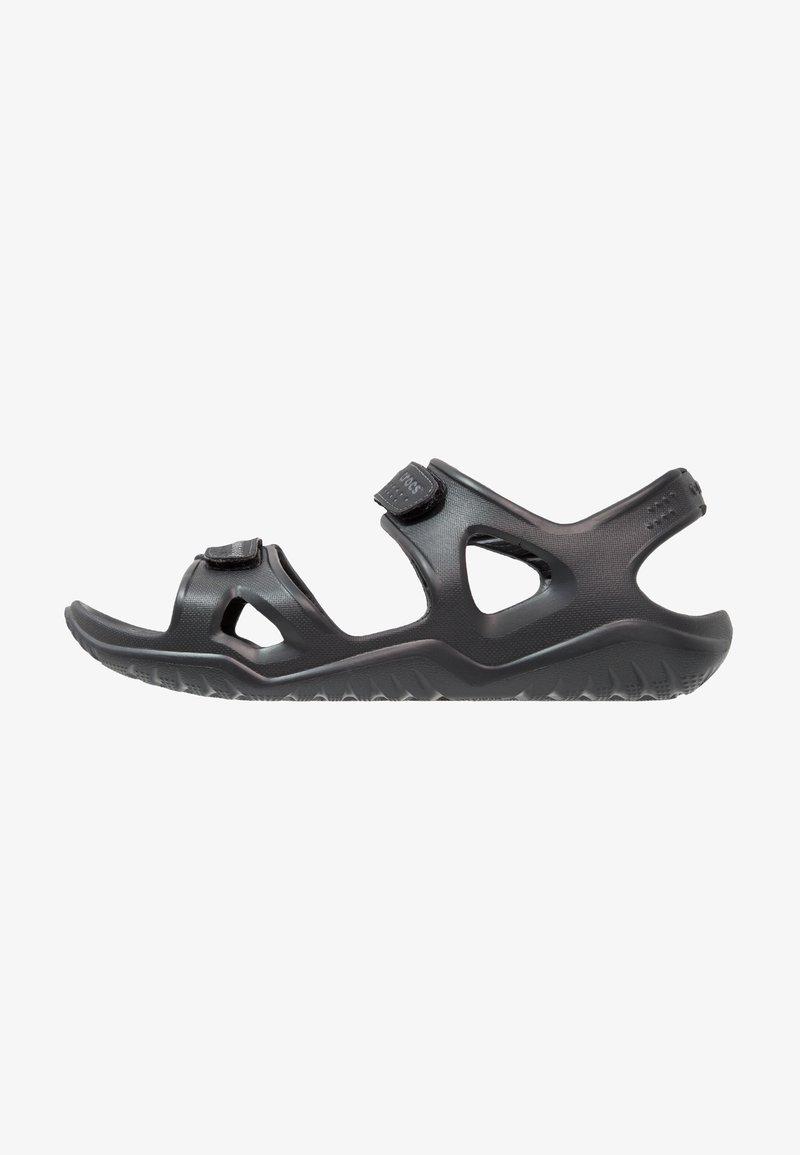 Crocs - SWIFTWATER - Badesandale - black