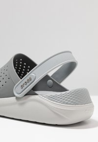 Crocs - LITERIDE RELAXED FIT - Clogs - smoke/pearl white - 5