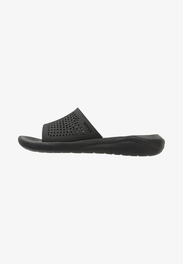 Pool slides - black/slate