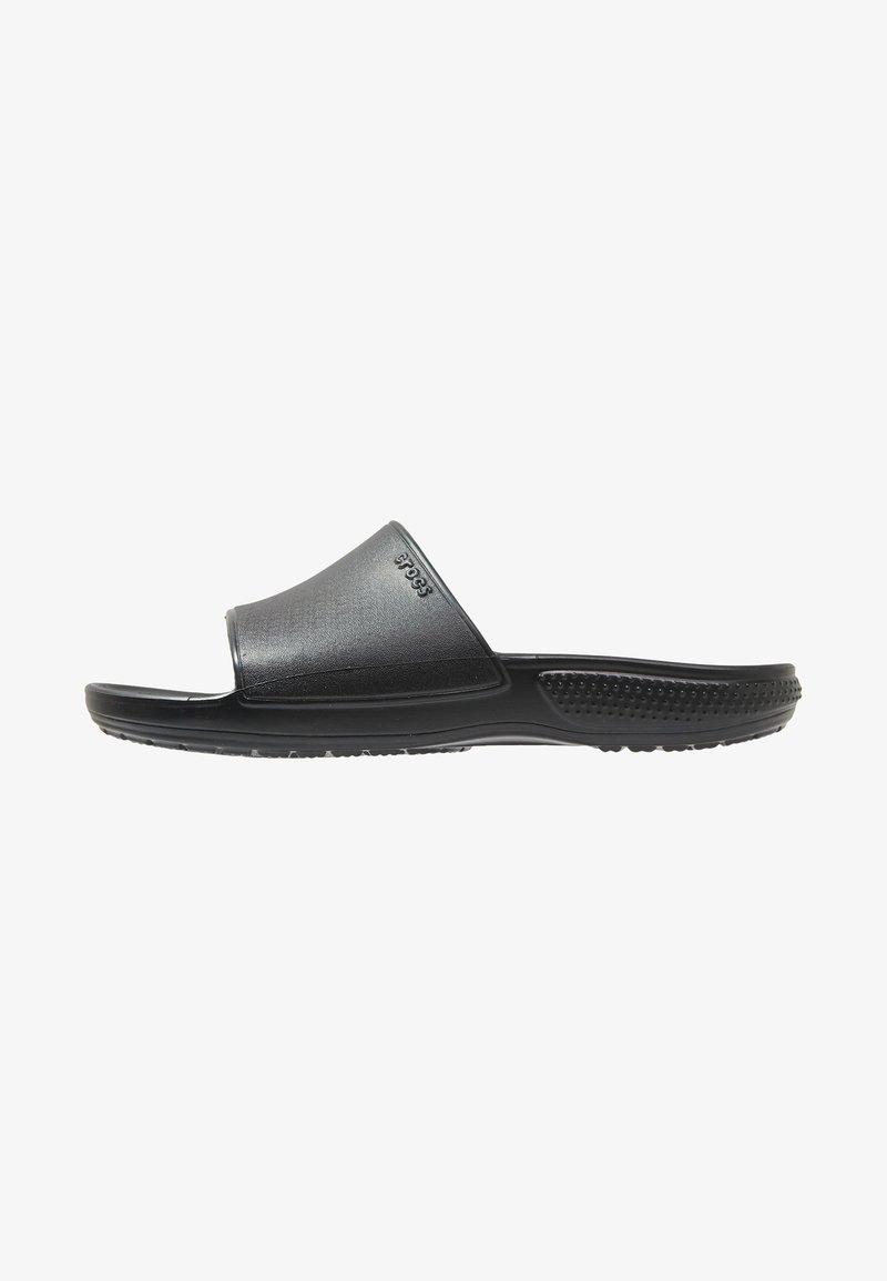 Crocs - CLASSIC II SLIDE  - Pantolette flach - black