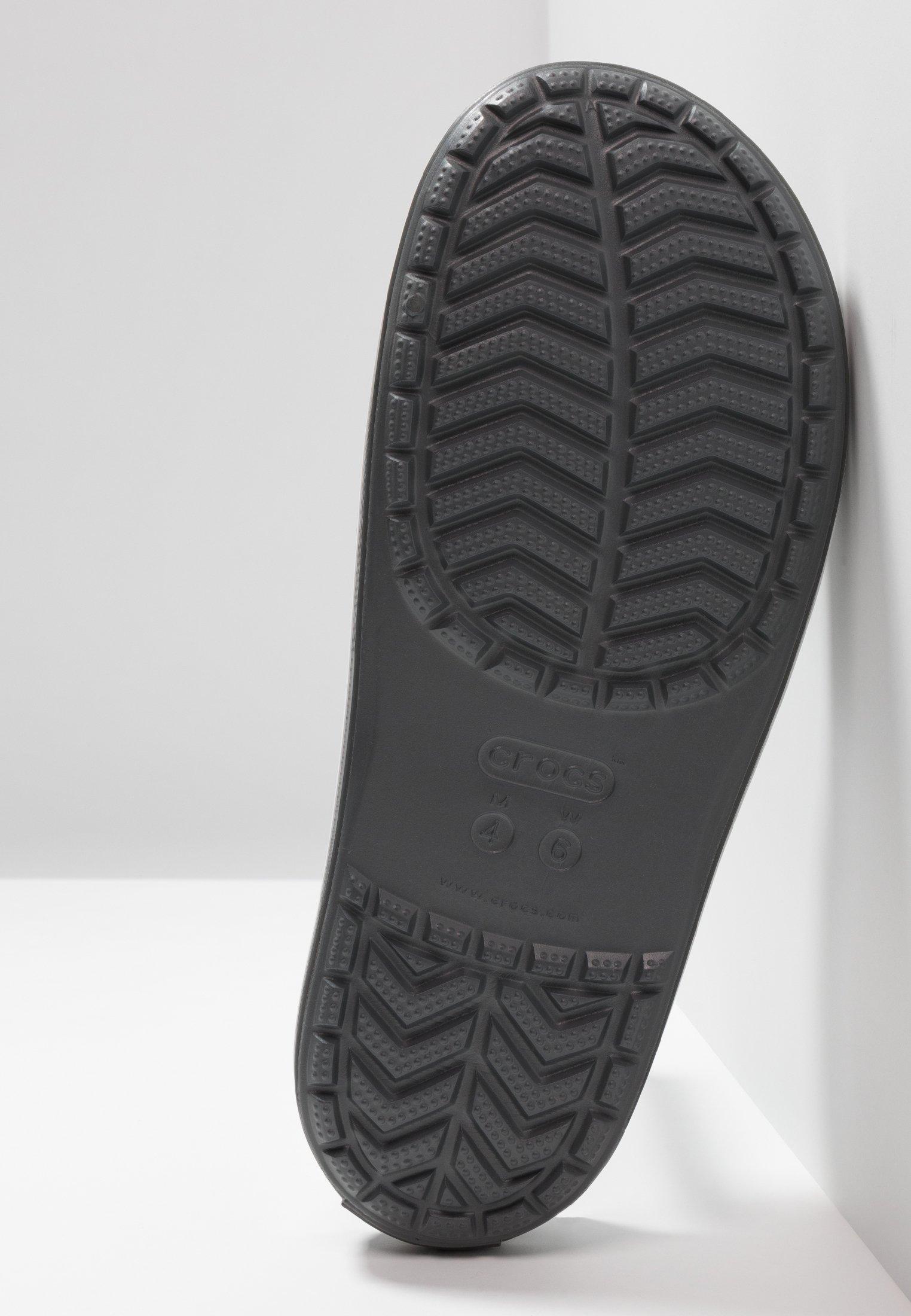 Crocs SLIDE - Sandali da bagno slate grey/white