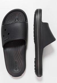Crocs - Pool slides - black/graphite - 1