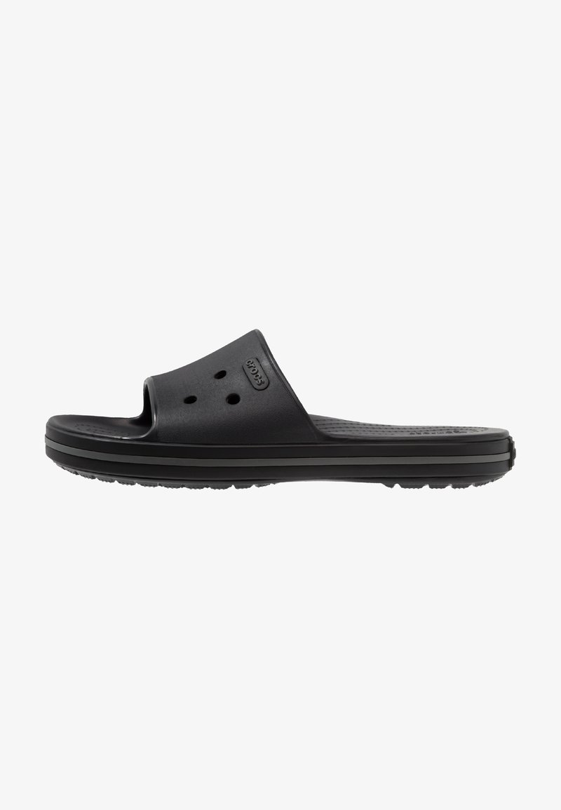 Crocs - SLIDE - Sandales de bain - black/graphite