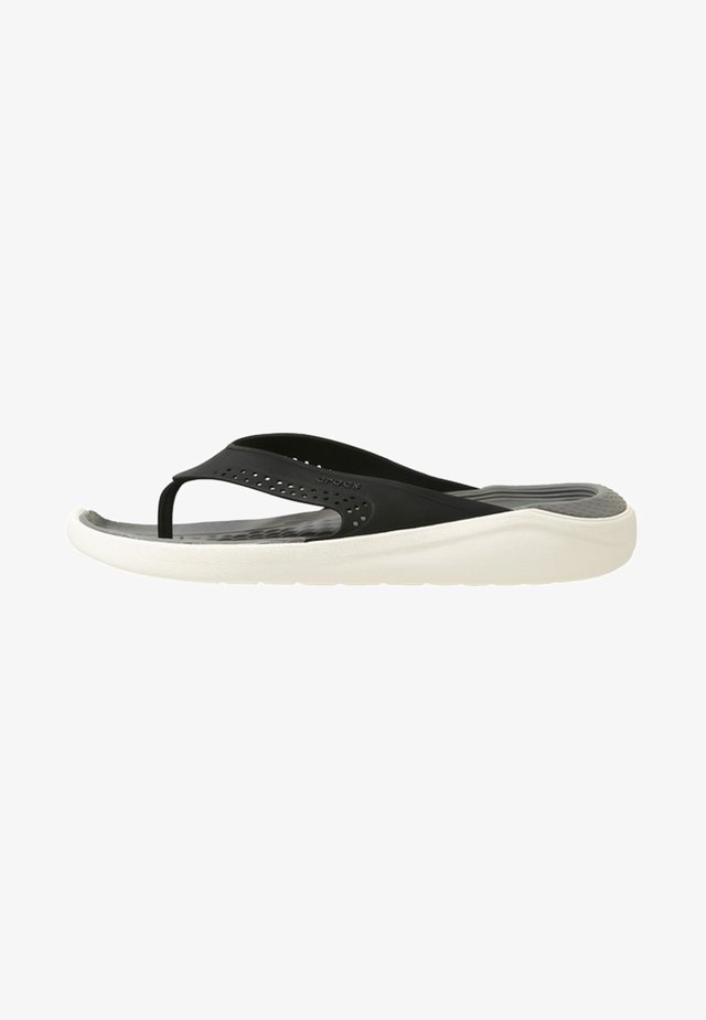 CROCS LITERIDE - Chanclas de baño - black / smoke