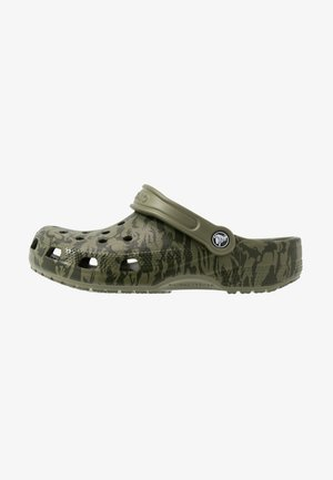 CLASSIC PRINTED CAMO - Clogs - army green