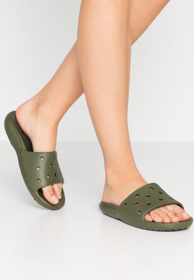 CLASSIC SLIDE - Sandały kąpielowe - army green