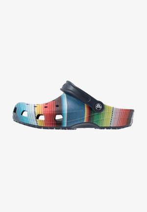 CLASSIC STRIPED - Clogs - multicolor/navy