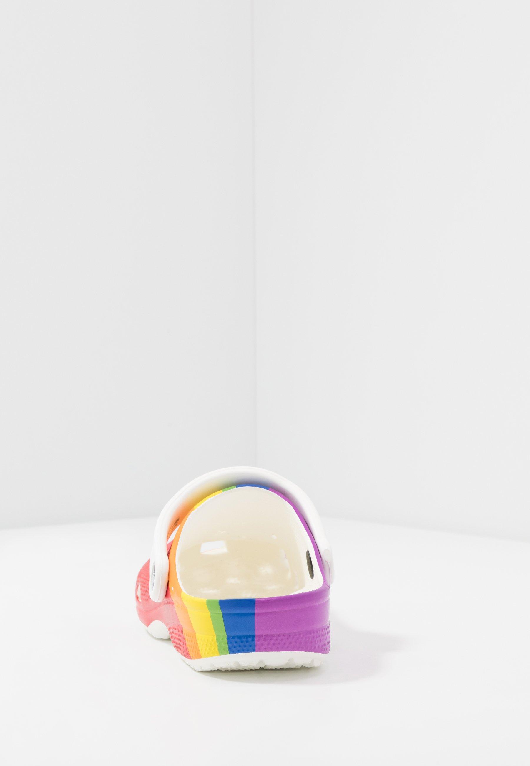Crocs Classic Rainbow Stripe - Badesandaler
