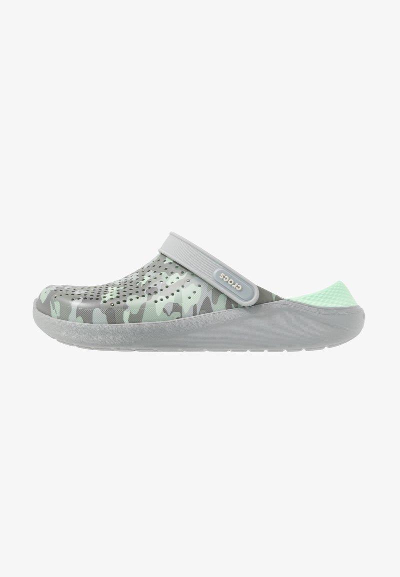 Crocs - LITERIDE PRINTED - Clogs - neo mint/light grey