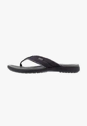 SANTA CRUZ FLIP - Sandalias de dedo - black/slate grey