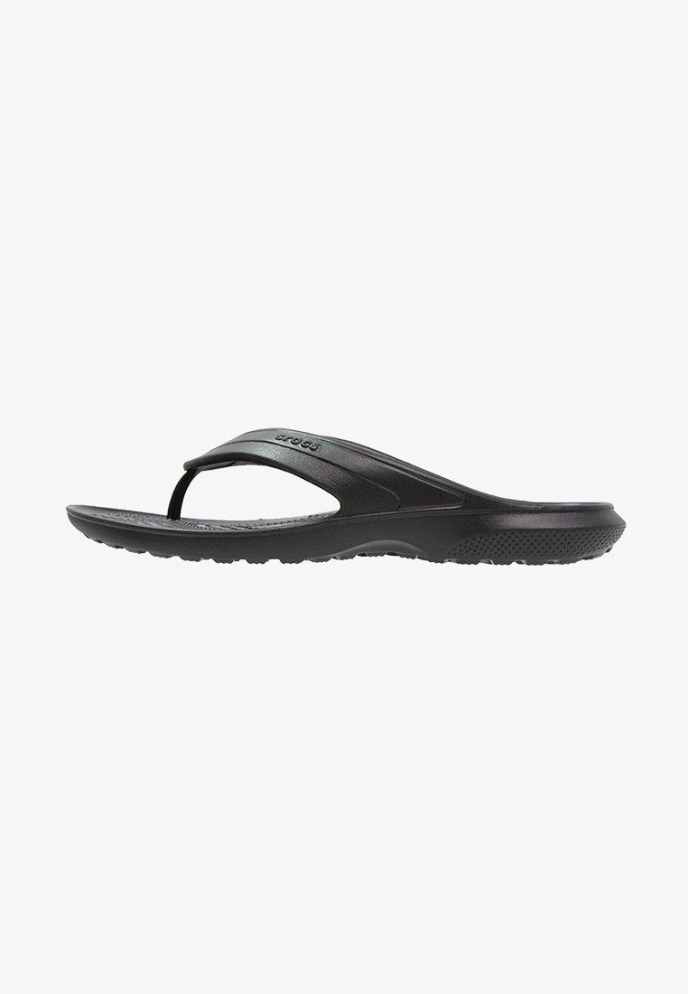 Crocs - CLASSIC FLIP - Klipklappere/ klip klapper - black