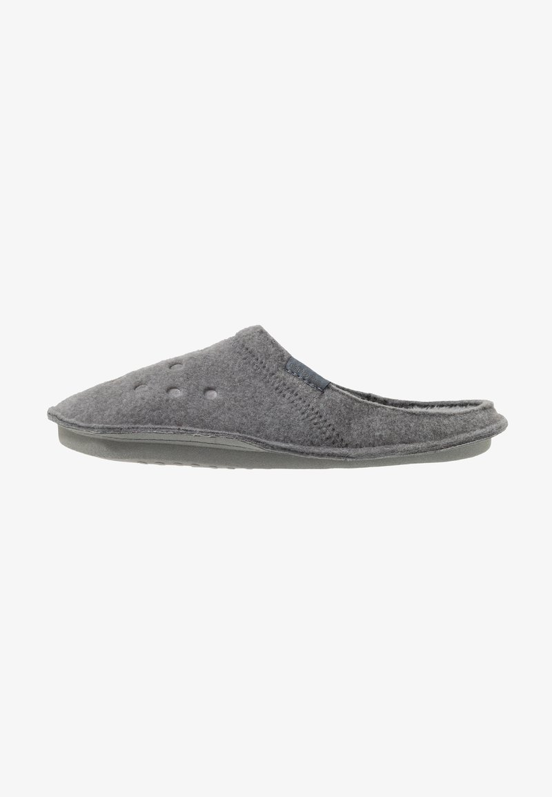 Crocs - CLASSIC - Pantuflas - charcoal