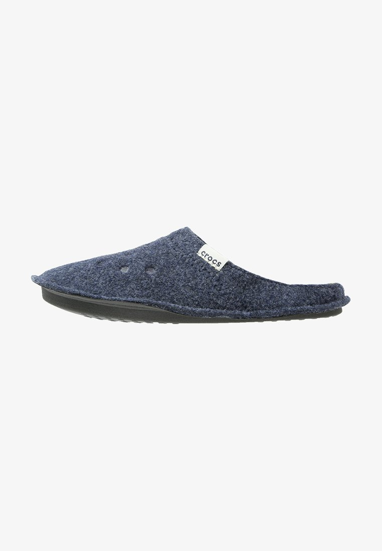 Crocs - CLASSIC - Tøfler - nautical navy/oatmeal