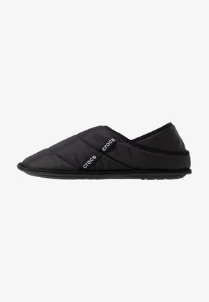 NEO PUFF SLIPPER - Tofflor & inneskor - black