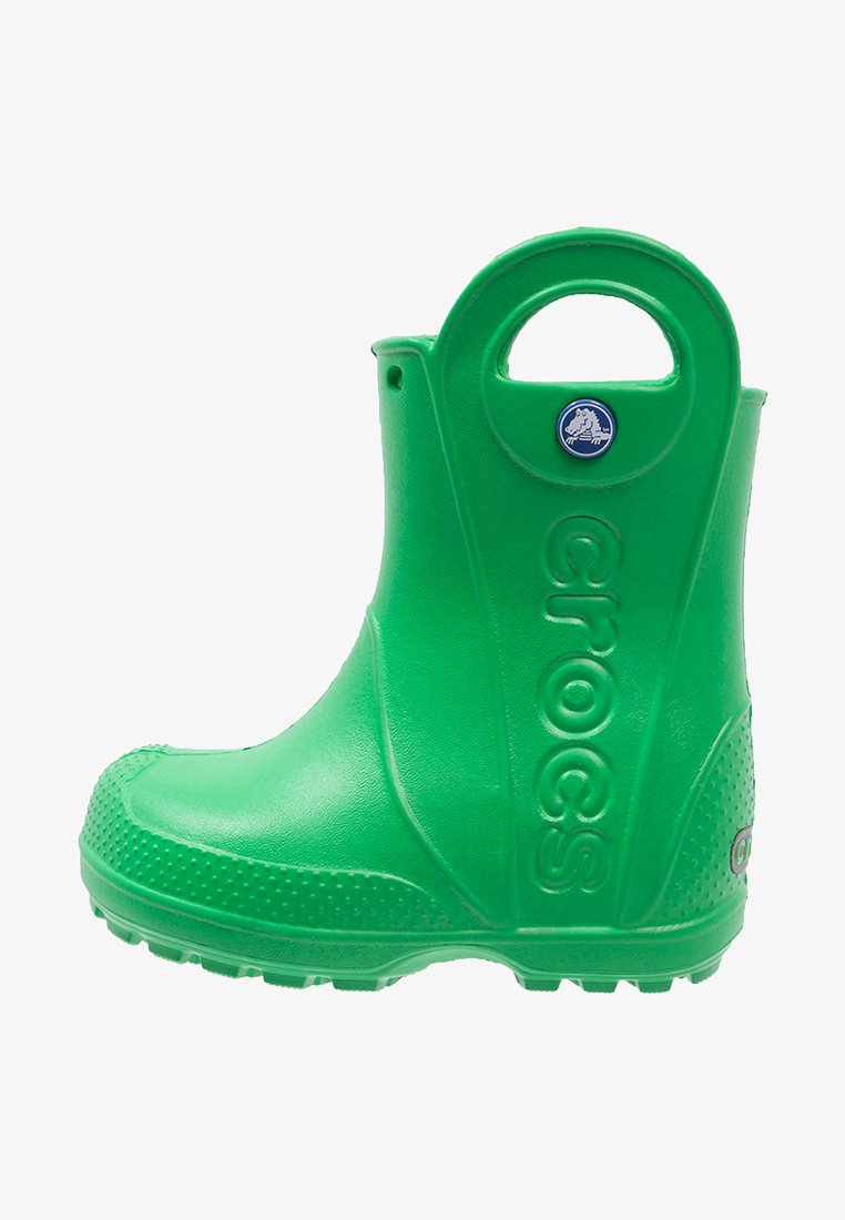 Crocs - HANDLE IT RAIN BOOT KIDS - Wellies - grass green