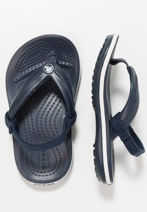 CROCBAND STRAP FLIP RELAXED FIT - Pool shoes - navy