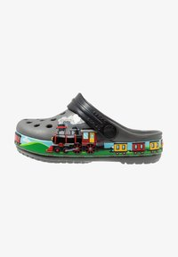 Crocs - TRAIN BAND CLOG RELAXED FIT - Badslippers - slate grey - 1