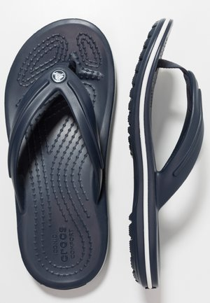 CROCBAND FLIP - Teenslippers - navy
