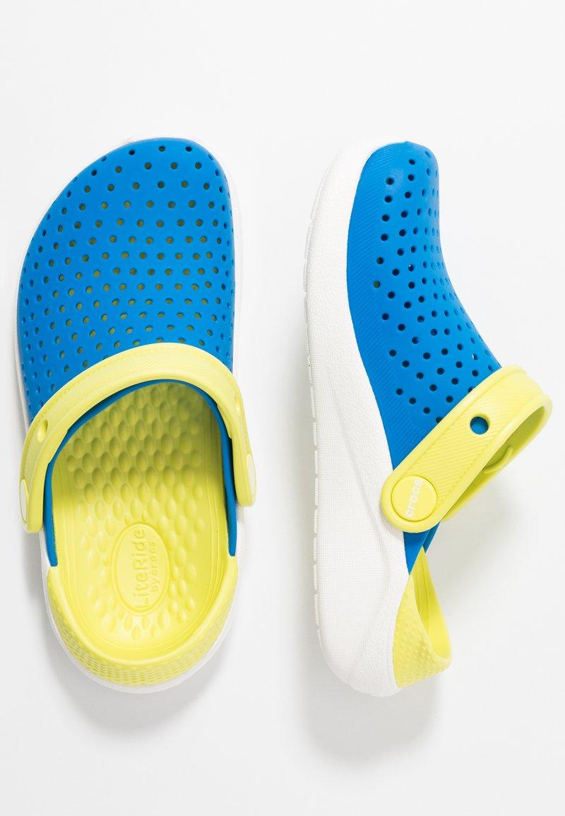 Crocs - LITERIDE  - Pool slides - bright cobalt/citrus