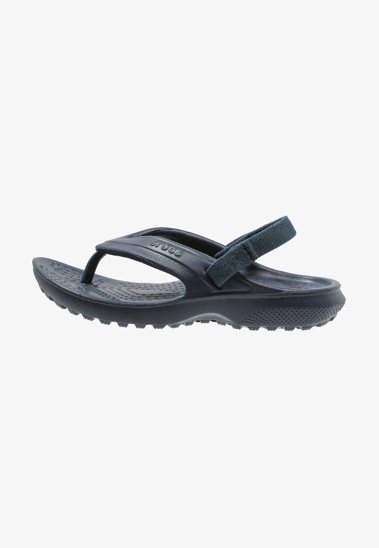 Crocs - CLASSIC - Bade-Zehentrenner - navy