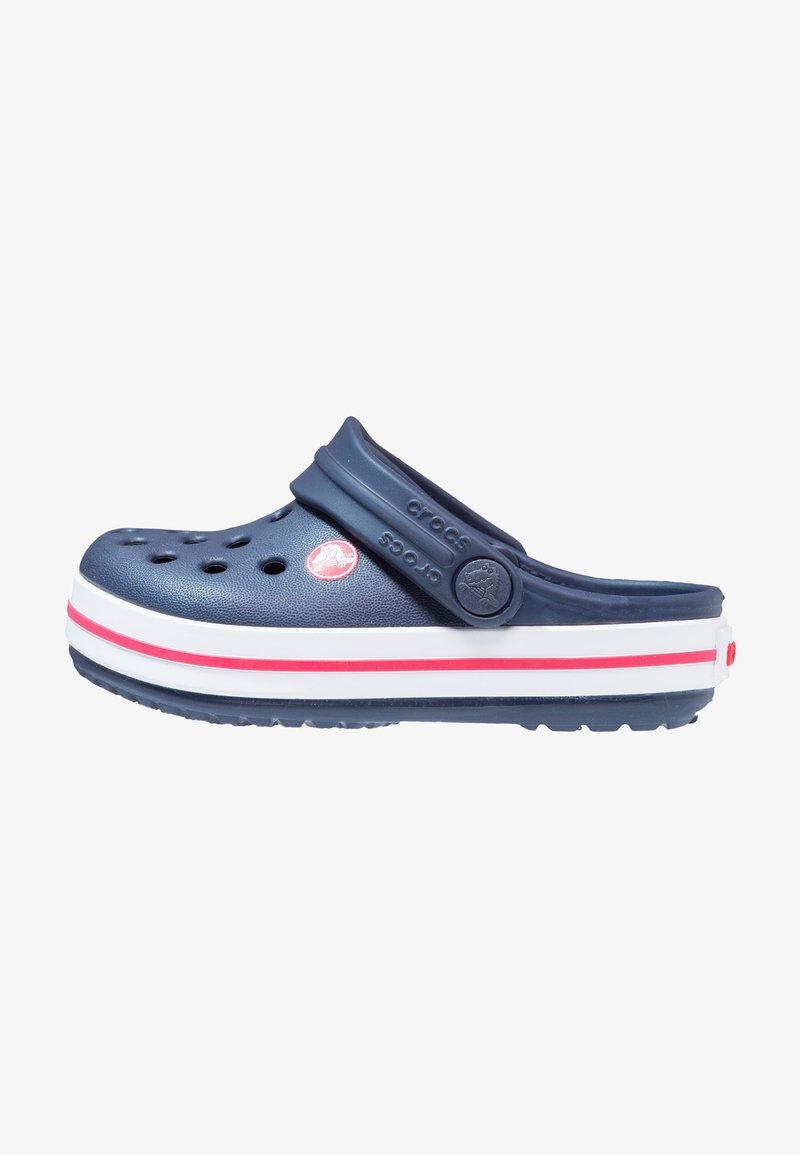 Crocs - CROCBAND RELAXED FIT - Pool slides - navy/red
