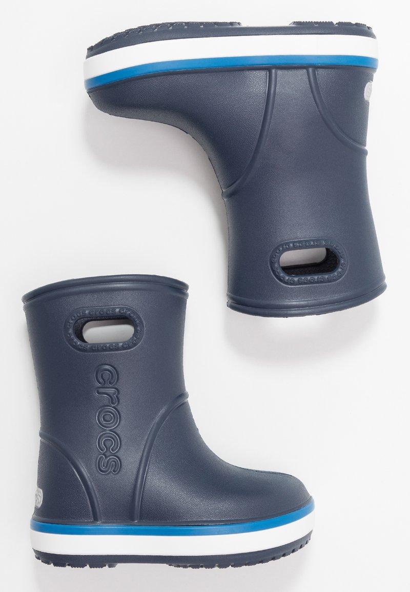 Crocs - CROCBAND RAIN BOOT - Kalosze - navy/bright cobalt