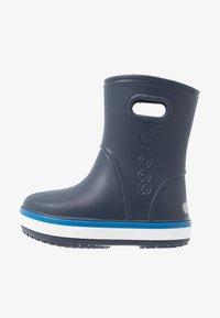 Crocs - CROCBAND RAIN BOOT - Wellies - navy/bright cobalt - 1