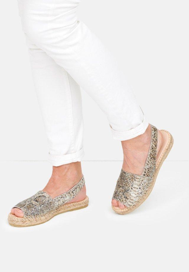 LISA - Sandals - metallic silver